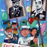 Голым Алёна (8 лет) «Бессмертный полк», гуашь, преподаватель Маркелова И.В., Детская художественная школа «Весна» г. Бердска