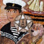 Бабушкина Вероника (8 лет) «Герой», гуашь, маркер, преподаватель Маркелова И.В., Детская художественная школа «Весна» г. Бердска