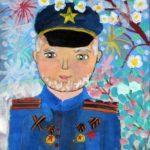 Просвиркина София (8 лет) «Мой дедушка», гуашь, преподаватель Маркелова И.В., Детская художественная школа «Весна» г. Бердска