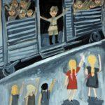Ляшкова София (10 лет) «Проводы», гуашь, преподаватель Рожкова Л.В., Детская художественная школа «Весна» г. Бердска