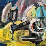 Басараб Юлия (7 лет) «Старые вещи», гуашь, преподаватель Прялухина Л.А., Линевская детская художественная школа