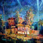 Казанцев Виталий Викторович «Воздух!!!», холст, масло, 120х90, Маслянинская детская школа искусств
