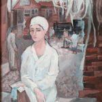 Захарова Алена (15 лет) «Ася», гуашь, преподаватель Михалева О.А., Маслянинская детская школа искусств