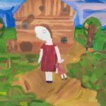 Семенова Валерия (11 лет) «После боя», гуашь, преподаватель Коваленко Д.С., Детская школа искусств № 30 г. Новосибирска