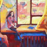 Кушнарёва Юлия (14 лет) «Ожидание», гуашь, преподаватель Дормакова Д.В., Детская художественная школа «Весна» г. Бердска
