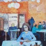 Медникова Виктория (14 лет) «Одна», гуашь, преподаватель Гулькова О.Г., Линевская детская художественная школа