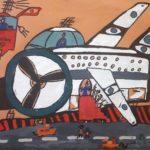 Бурцев Александр (10 лет) «Родной аэропорт», гуашь, преподаватель Киримова Т.Ю., Городская школа искусств № 29 г. Новосибирска