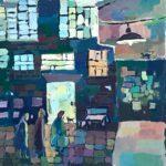 Кашаутова Валентина (11 лет) «Ночной город», гуашь, преподаватель Гулькова О.Г., Линевская детская художественная школа