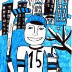 Казанцева Елизавета (8 лет) «Надежда Сибири», фломастеры, преподаватель Громыко О.Ю., Детская художественная школа № 2 г. Новосибирска