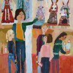 Процкая Елизавета (10 лет) «Урок», гуашь, преподаватель Торгонская А.Е., Детская художественная школа р.п. Краснообск