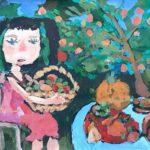 Вальтер Анастасия (7 лет) «Урожай», гуашь, преподаватель Шаронова А.А., Линевская детская художественная школа