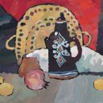 Алабугина Варвара (9 лет) «Восточный натюрморт», гуашь, преподаватель Шаронова А.А., Линевская детская художественная школа