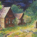 Вилисова Кристина (14 лет) «Домой», гуашь, преподаватель Бендер Е.А., Детская школа искусств г. Искитима