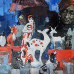 Гулькова Ольга Геннадьевна «Блошка», холст, масло, 70х50, Линевская детская художественная школа